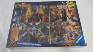 Ravensburger 4 Puzzles Marvel Adventures Infinity War ages 5+ Lot 2 of 2 New