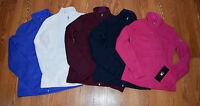 NWT Womens SPYDER ENDURE STRYKE Knit Mid Weight Jacket Navy Blue Pink XXS XS S M