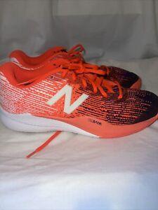 New Balance 996 Pro Bank Tennis Shoes White/Orange/Blue 11.5 2E