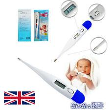 Bebé adulto cuerpo Niños Seguro Oreja termómetro digital LCD de Temperatura médica de Boca