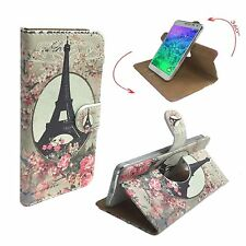 Mobile Phone Book Cover Case For Philips Xenium X588 - Roses Paris M