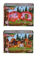 Masha and the Bear mini House Houses Playset with 2 figures Sima SMALL