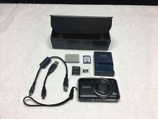 Canon PowerShot SX230 HS 12.1MP Digital Camera GPS AF-BATTERY&CHARGER+MORE!!!