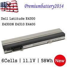 58Wh Battery for Dell Latitude E4300 E4310 312-0823 FM332 XX327 XX33 HW905