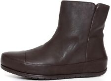 FitFlop Women's DueBoot Chelsea Brown Leather Boots 1061* Size 8 NEW