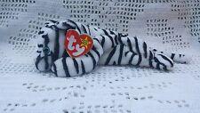 White Tiger Ty Original Beanie Babies Retired Blizzard 12/12/1996 MWMT 3+