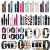 Verschiedene Typ Armband Uhrenarmband Ersatz Band Uhr Strap für Fitbit Charge 2