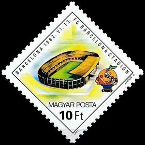 HUNGARY - 1982 - F.C. Barcelona Stadium - Football (Soccer) World Cup, in Spain