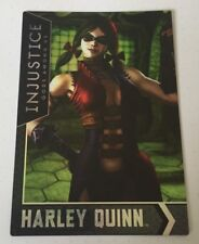 Injustice Justice League Gods Arcade Game Trading Card Harley Quinn 07 FOIL