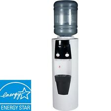 5 Gallon Hot & Cold Water Dispenser Cooler, Full Size Electric Free-Standing