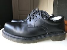 Dr Martens Black Leather Designer Ankle Boot Steel Toe Safety Shoe Size 5 38