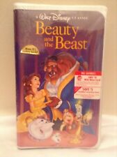 DISNEY RARE BLACK DIAMOND CLASSIC BEAUTY AND THE BEAST VHS SEALED BRAND NEW