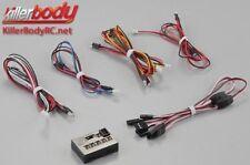Killerbody Lichtset - Scale - LED - Unit Set m. Control Box 12x3mm LEDs 1:10