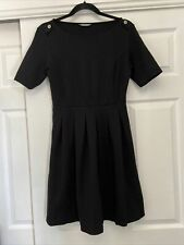 Marks and spencer Flattering fit and flare dress 12 Black