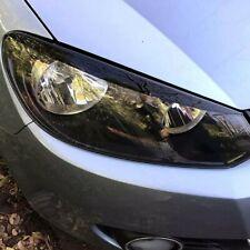 Paupières de phare noir VW Golf 6 droite et gauche
