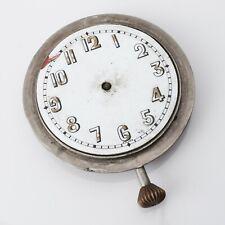 e231460e7537 SWISS QUARTIER FRERES 2 ADJSTS Pocket Travel Clock Watchmakers Parts Repairs