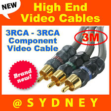 High-end Neotech 3m 3RCA - 3RCA Component Video AV Cable - RRP* $124.95