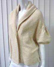 BCBG MAX AZRIA Oversized Long Sleeve Cardigan Sweater Size XS, Ivory