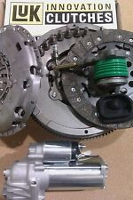 JAGUAR X TYPE 2.0 D LUK DUAL MASS FLYWHEEL, BOLTS, STARTER AND CLUTCH WITH CSC