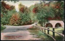 PHILADELPHIA PA Wissahickon Drive & Bridge Indian Rock