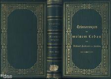 Freiherr von Friesen Kgl. Staatsminister Sachsen Erinnerungen Band 1 EA 1880