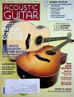 Acoustic Guitar Magazine April 2009 Inside Taylor Guitars m583