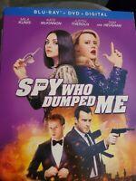 The Spy Who Dumped Me Blu Ray+Dvd W/Slipcover And Digital Copy