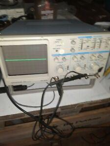 Kenwood CS4125 2 Channel 20MHz Oscilloscope single probe