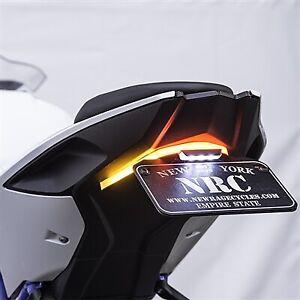 COPART Motorcycle Fender Eliminator Tail License Plate Holder Bracket for BMW S1000RR 2019 2020