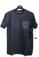 Rip Curl LINO TEE Men's Crew Neck Short Sleeve Cotton T Shirts New - Black