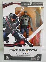 "Hasbro Overwatch Ultimates Series Blackwatch Reyes Reaper 6"" Damage class figure"