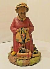 Vintage Tom Clark Christmas Mrs Claus 2 Figurine With Her Elfs '78