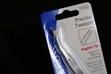 New LA Cross Precise-Tweeze Angled Tip Tweezers Sally Hansen # 71950 Fast Ship