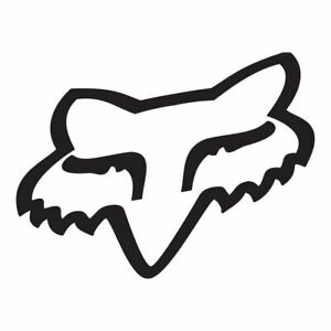 Fox Racing TDC Head Vinyl Decal