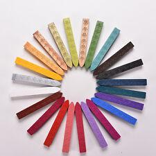 24 Colors Envelope Invitations Stamp Letter Cards Sealing Wax Sticks SP