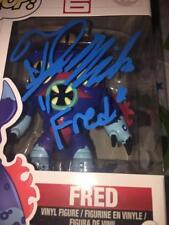 TJ MILLER FRED BIG HERO 6 VOICE KIDS MOVIE RARE JSA SIGNED FUNKO POP #113 COA