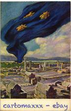 WW1 WWI Propaganda - G. Mazzoni - Bandiera Dalmazia - Terre Irredente - PV229