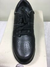 WOMEN WALKING SHOES HUSH PUPPIES ACHIEVE BLACK  NEW IN THE BOX SIZE 7 LEATHER