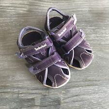 Timberland Toddler Girls Adventure Seeker Sandals Sz 6.5 Purple Double Strap