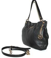 Michael Kors Bedford Lg. Convertible Shoulder Bag, BLACK,Pre-owned(See Condition