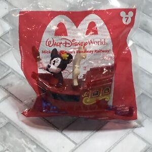 Walt Disney World Mickey & Minnie Runaway Railway McDonald's Toy #7 Minnie Mouse