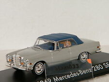 MERCEDES BENZ 280 SE 1969 + TIGRE DU FILM HANGOVER 2009 GREENLIGHT 1/43 - 86462