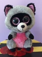 "TY BEANIE BOOS ROCCO the RACCOON 9"" great condition -- see photos"