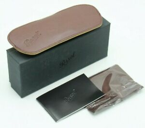 NEW PERSOL AUTHENTIC EYEGLASSES SUNGLASSES SMALL SOFT CASE CLOTH BOX DOCUMENTS