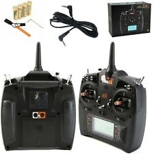 Spektrum DX6 6CH DSMX Transmitter / Radio w AR610 Receiver MD2 + Trainer Cord