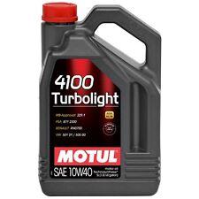 MOTUL Aceite lubricante motor 4100 TURBOLIGHT 10W40 5L
