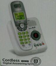 VTECH Cordless Digital Answering System Handset Caller ID White CS6124 *NEW*