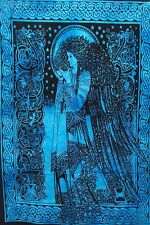 Poster Blessing Angel Design Small Tapestry Wall Hanging Cotton Fabric Ethnic