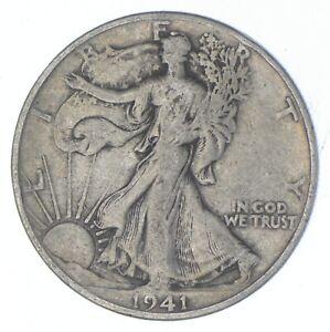 Better 1941-D - US Walking Liberty 90% Silver Half Dollar Coin Set Break *835