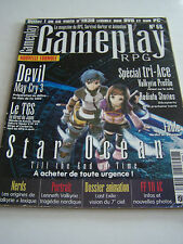 Gameplay magazine, playstation 2 and 3, xbox, gamecube, laptops, pc.
